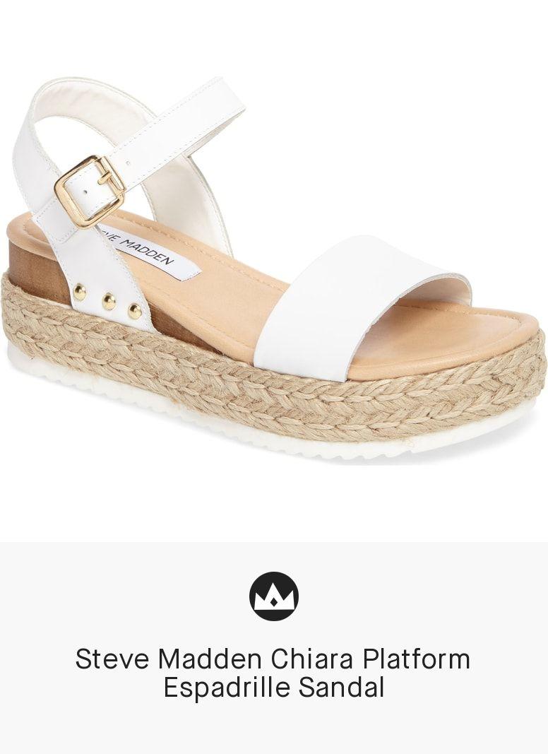 04c09ed2d11 Steve Madden Chiara Platform Espadrille Sandal in 2019 | women shoes ...