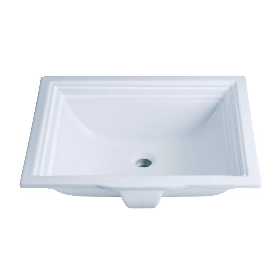 Shop Kohler Memoirs White Undermount Rectangular Bathroom Sink With