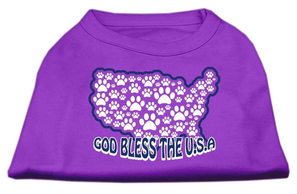 God Bless USA Screen Print Shirt