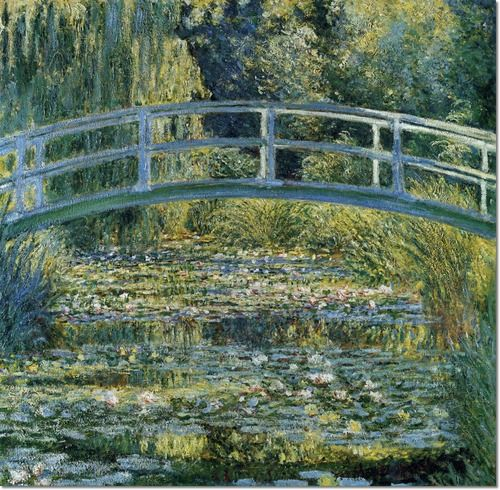 Claude Monet Japanese Bridge Original | Claude Monet - Japanese ...