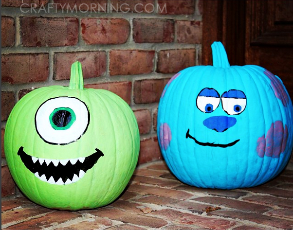 Clever No Carve/Painted Pumpkin Ideas for Kids , Crafty
