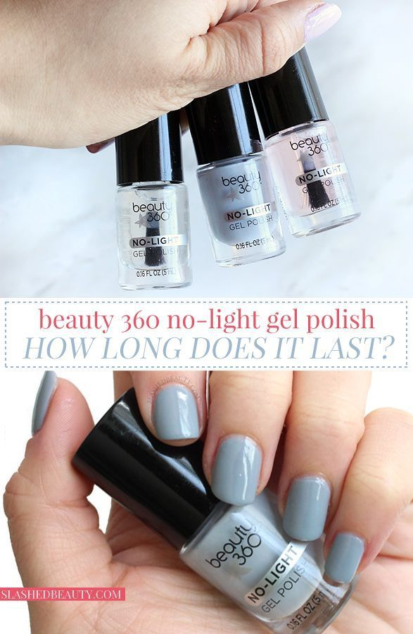 REVIEW: Beauty 360 No-Light Gel Polish | Light gels and Top coat