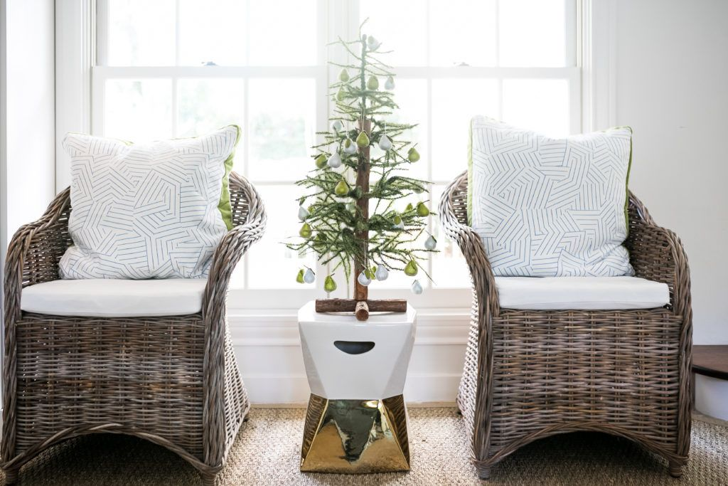 Making Christmas Magical Christmas, Wicker chair