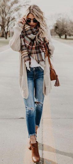 Erhalten Sie stilvolle Herbstmode-Trends mit Komfort und schickem Look #fallfashions