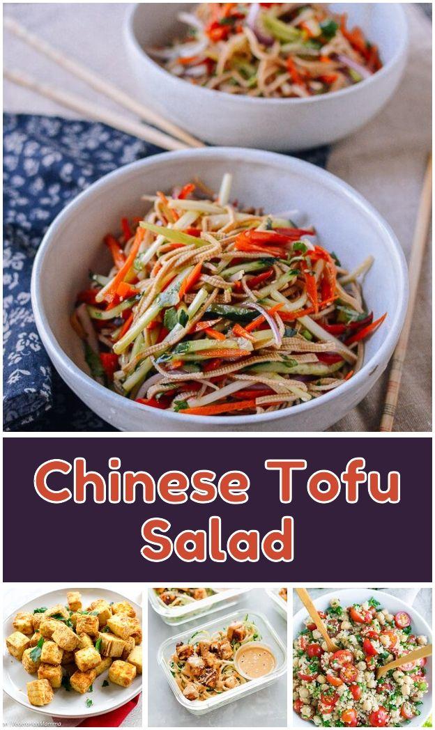 Chinese Tofu Salad Chinese Tofu Salad Seriously One Of My