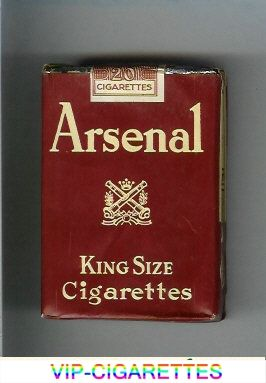 Arsenal cigarettes - and not a Wenger in sight.