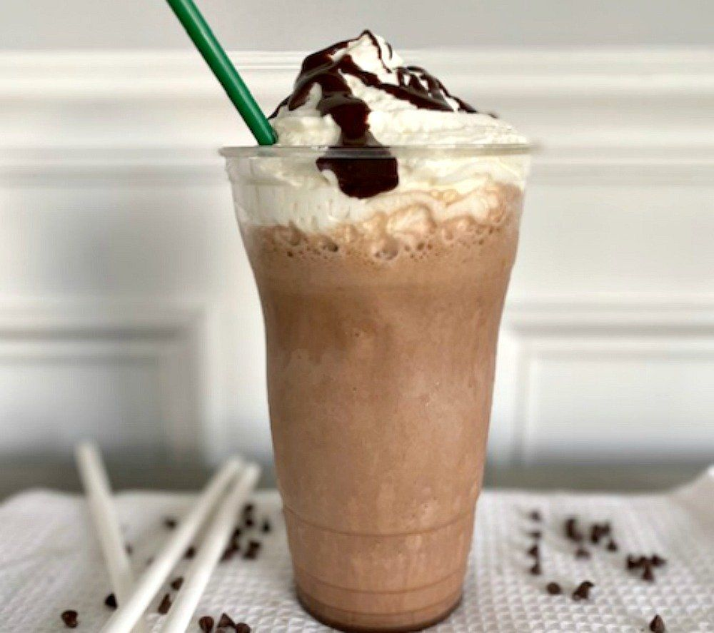 Warning: This Copycat Starbucks Double Chocolate Chip ...