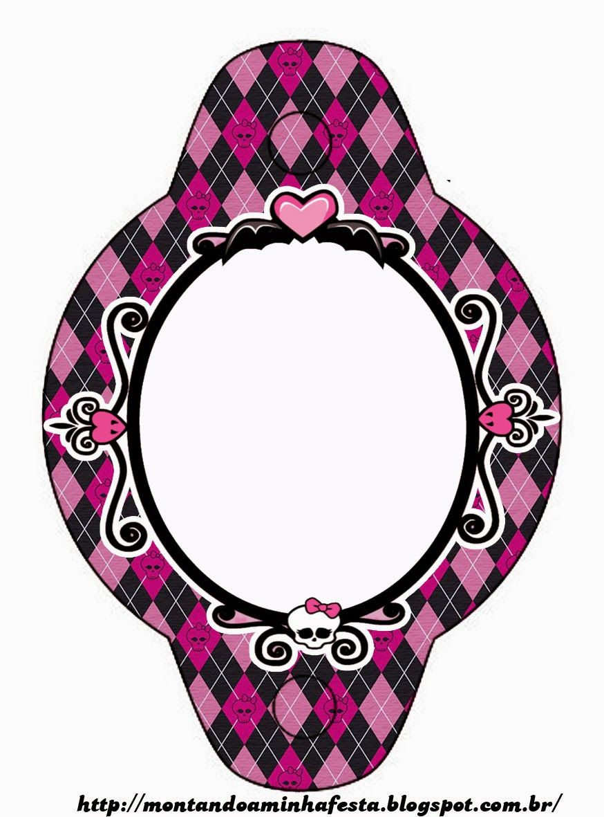 Monster High Party Printables | Monster High: Invitations and Party ...