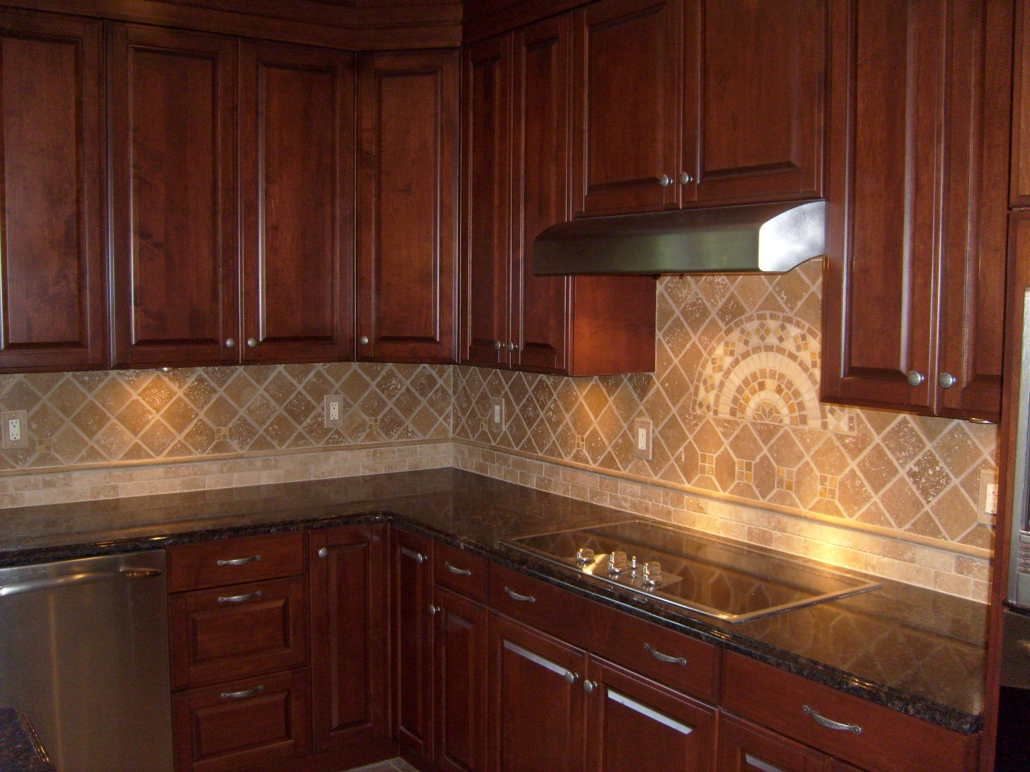 Backsplash Updated Kitchen Kitchen Remodel Kitchen Tiles Backsplash