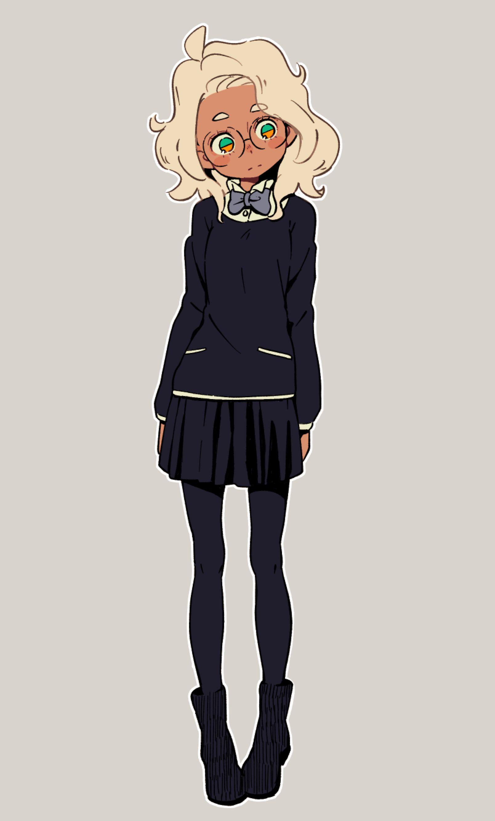 Girl by monionium on DeviantArt Character art