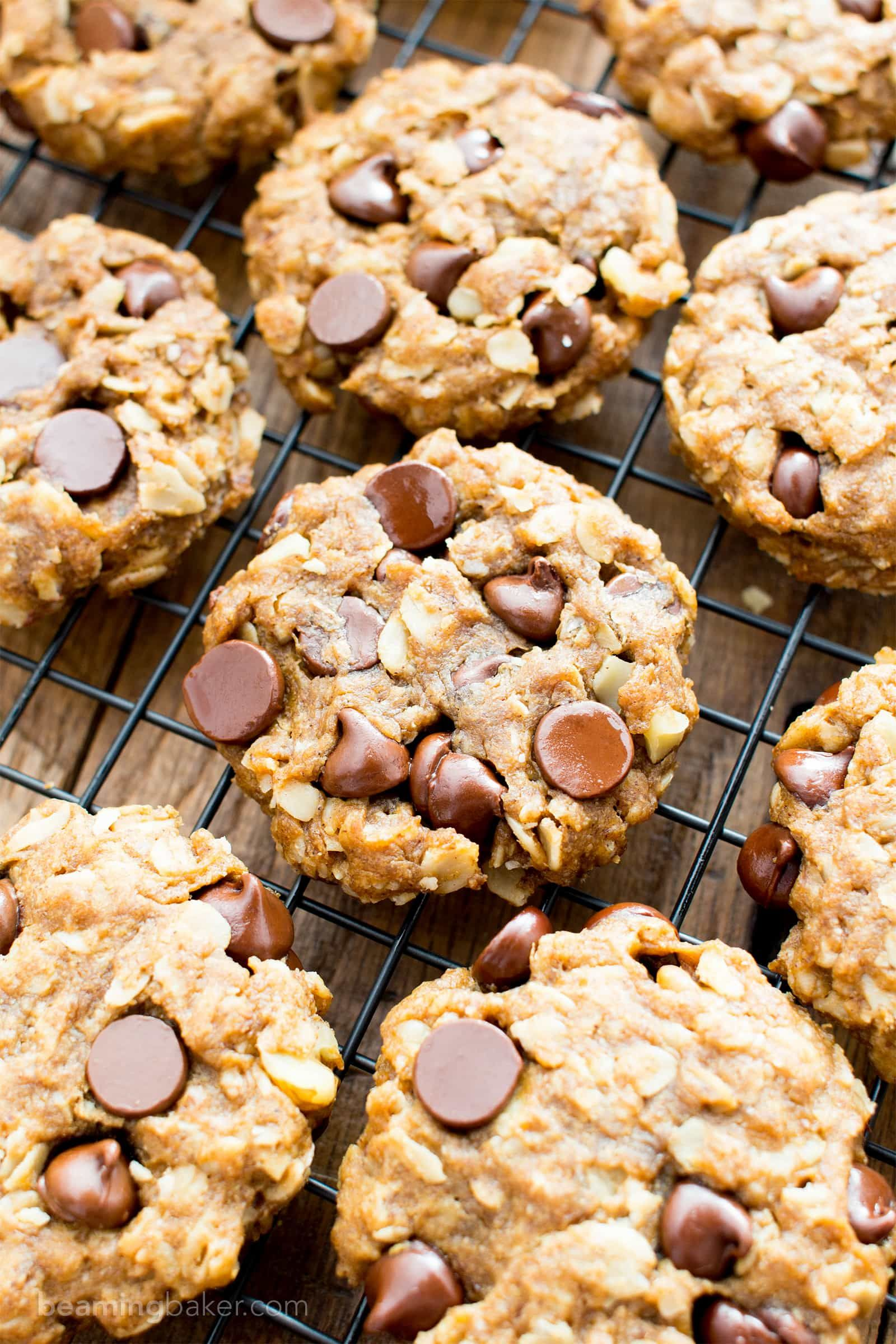 Easy gluten free peanut butter chocolate chip oatmeal