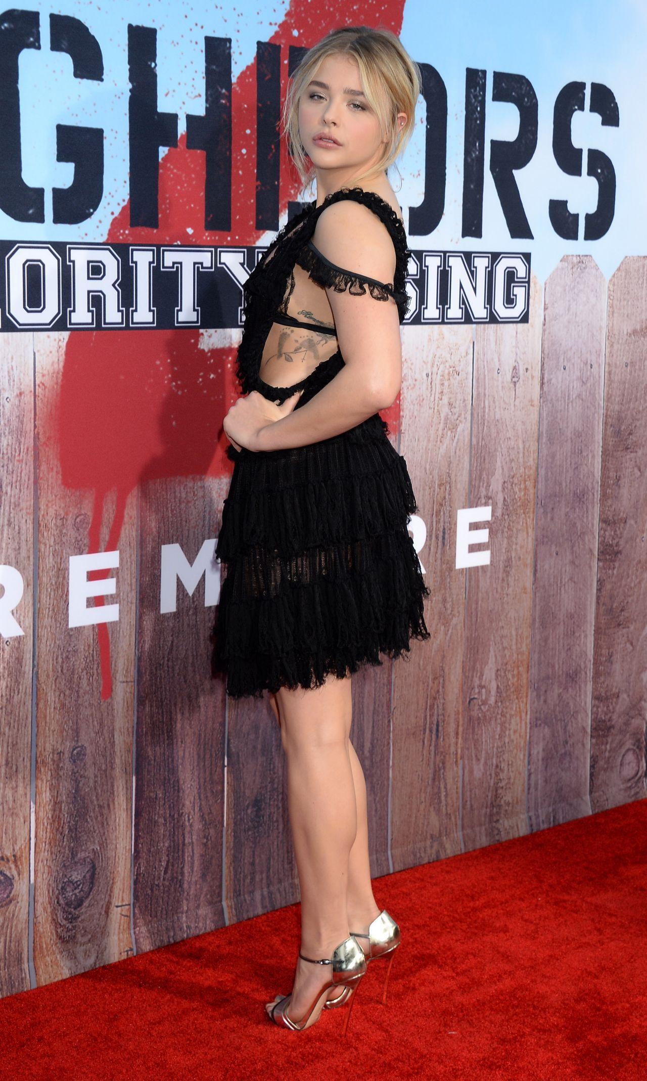 Chloë Grace Moretz – 'Neighbors 2: Sorority Rising' Premiere in Westwood 5/16/2016