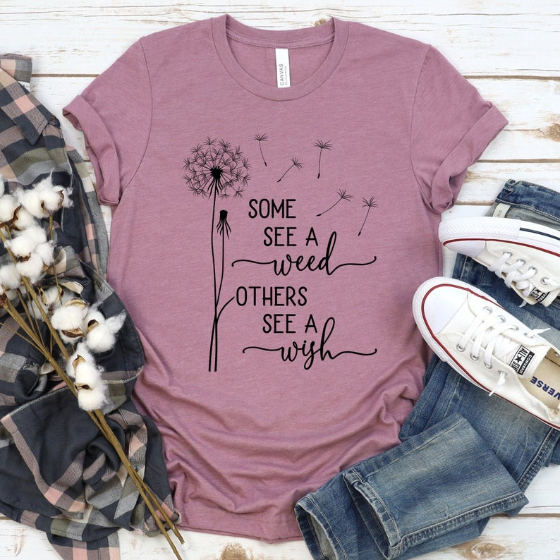 Some See A Weed Others See A Wish Svg Dandelion Svg Cut File | Etsy