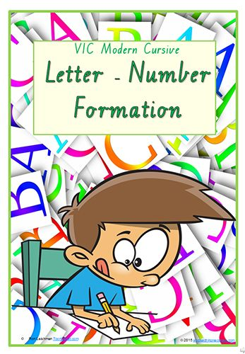 Font Option  Foundation Handwriting  Letter  Number Formation