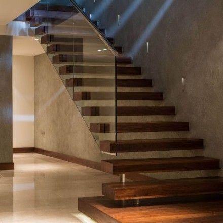 Diseño de escaleras flotantes minimalistas escaleras minimalistas