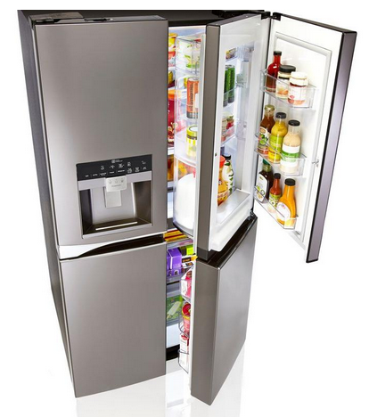 Best Samsung Vs Lg 4 Door Refrigerators Review Ratings Prices Fridge French Door French Doors Lg 4 Door Refrigerator