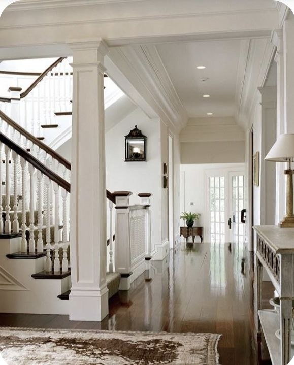 Beautiful Interior Staircase Ideas And Newel Post Designs: Pin By Nahida S On Home In 2020