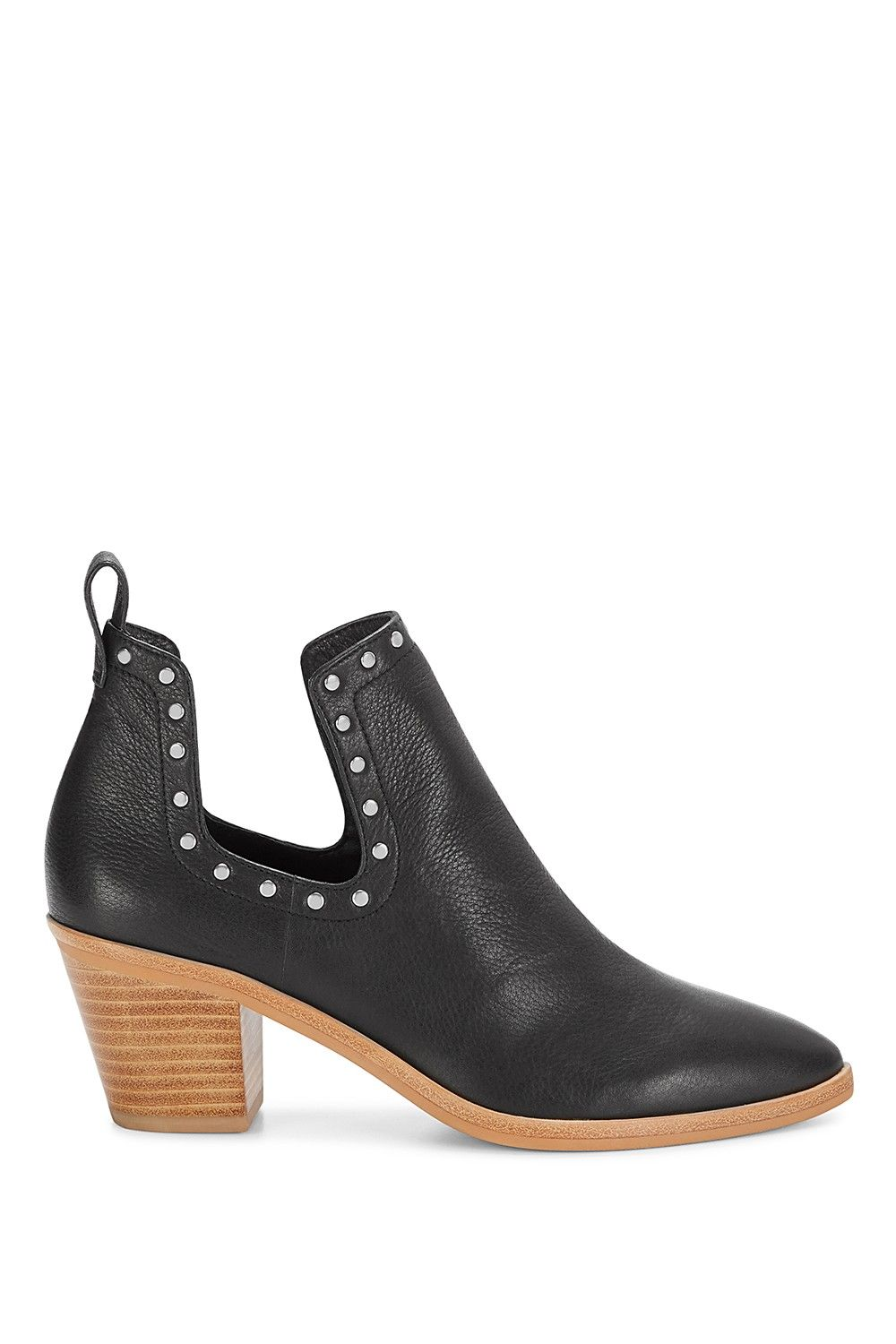 18560e9d074 Lana Bootie - Classic with a twist. These leather ankle booties ...