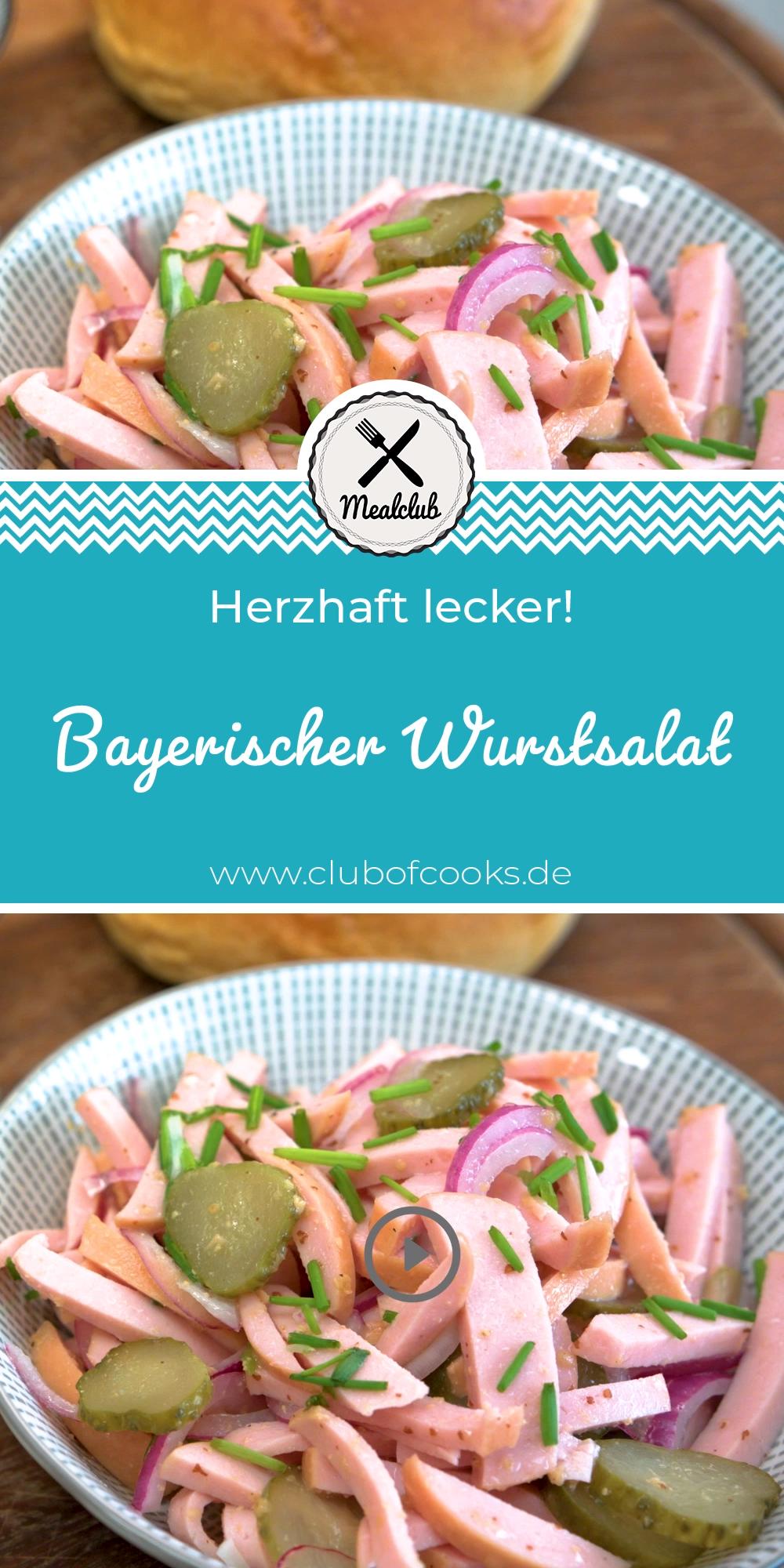 Bayerischer Wurstsalat | MealClub #sausagepotatoes