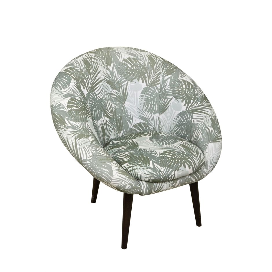 Cocktail Fauteuil Palmprint Stoelen SissyBoy Online Store - Fauteuil sissy