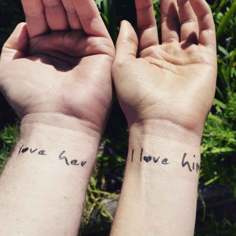 Tatuajes De Frases Para Parejas