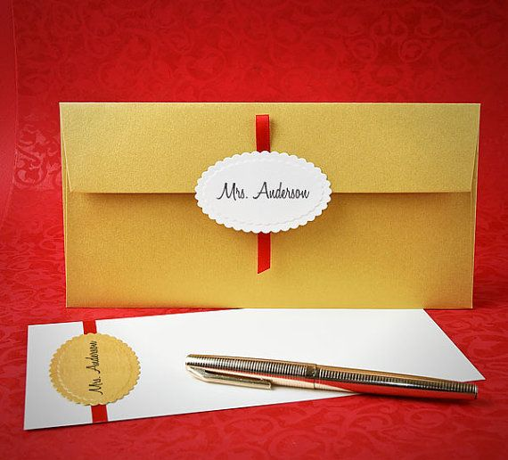 Christmas Money Gift Envelope Gold Royal Style Envelopes With
