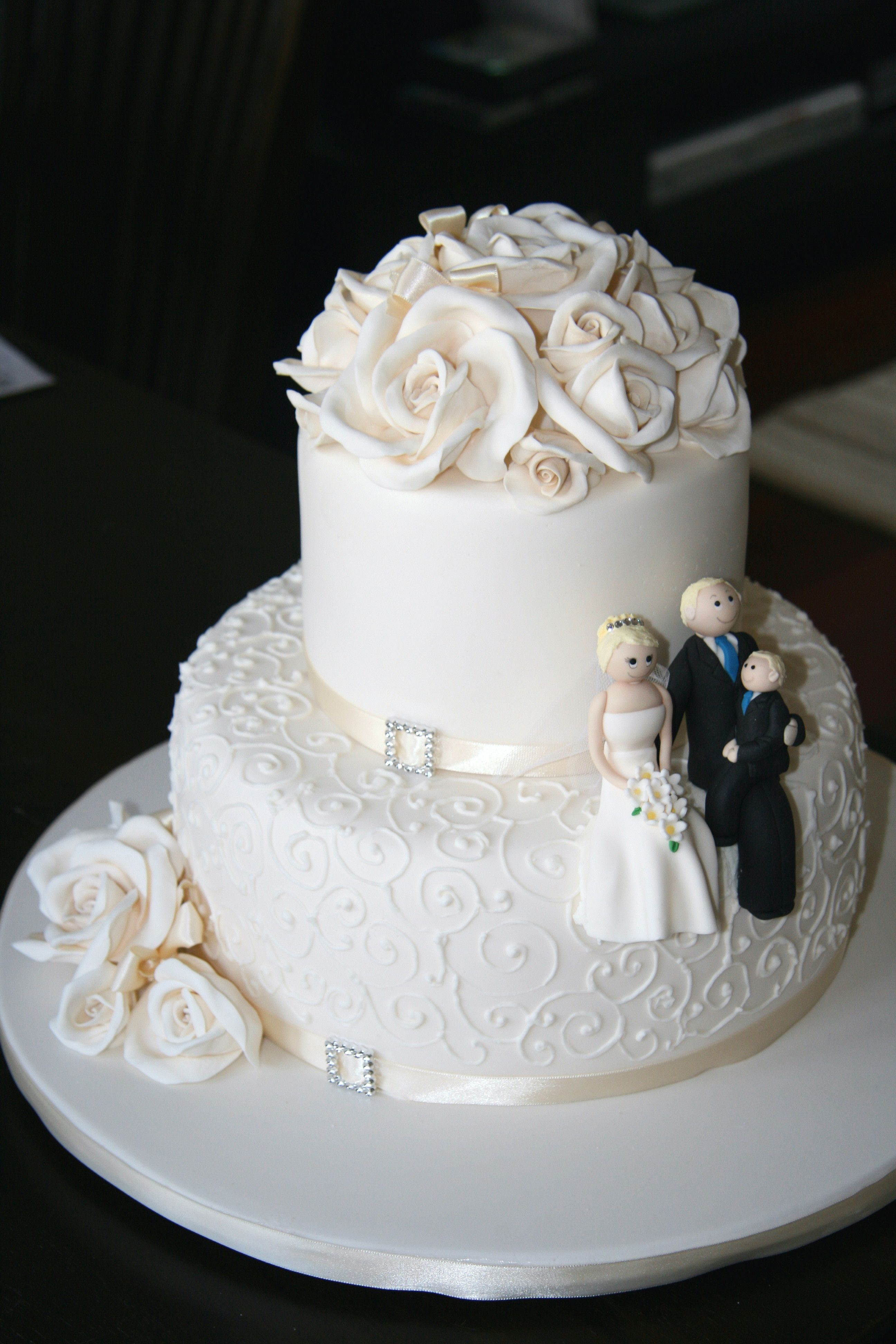 Pics Of 2 And 3 Tier Wedding Cakes Google Search With Images