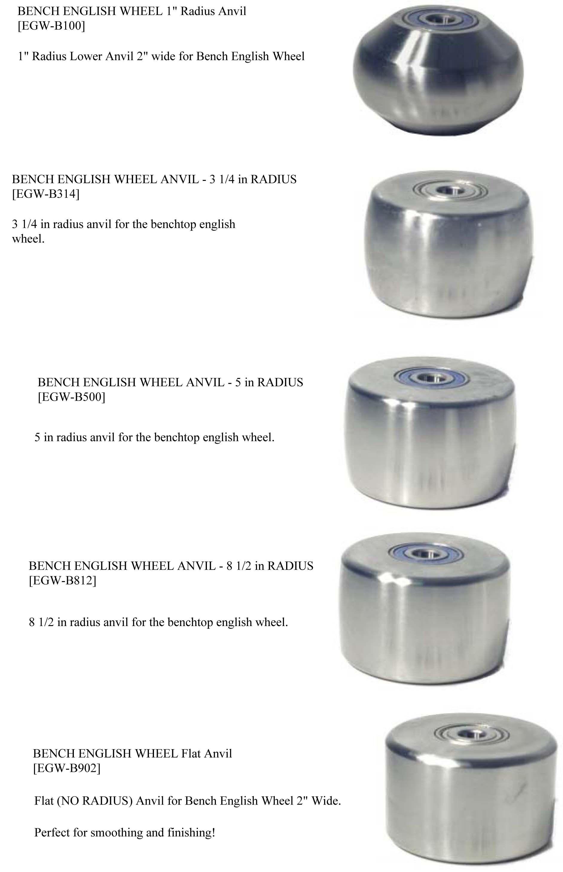 Irvan Smith Inc Metal Ace F240 English Wheel Anvil 24 Radius 3x3 Egw F240 108 00 English Wheel Sheet Metal Tools Metal Bending Tools