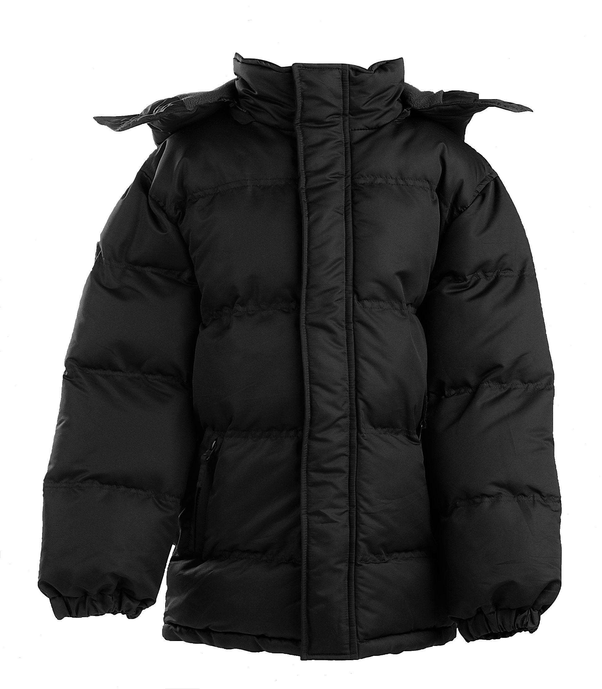 d69120b1f5c8 The Polar Club Boys  Heavy Puffer Jacket Bubble Winter Coat with ...