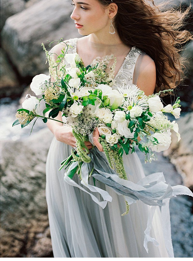 Graceful ocean bridal inspiration by malvisa frolova photography