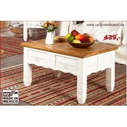 Couchtisch Wohnzimmertisch Shabby Chic Weiss Pinie Massiv 1a Direktimport1a Direktimport Ch In 2020 Living Room Coffee Table Side Table With Storage Living Room Table