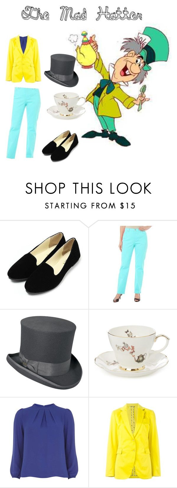 """The Mad Hatter"" by pipes29 on Polyvore featuring Gloria Vanderbilt, Scala, Ali Miller, Dorothy Perkins and Etro"