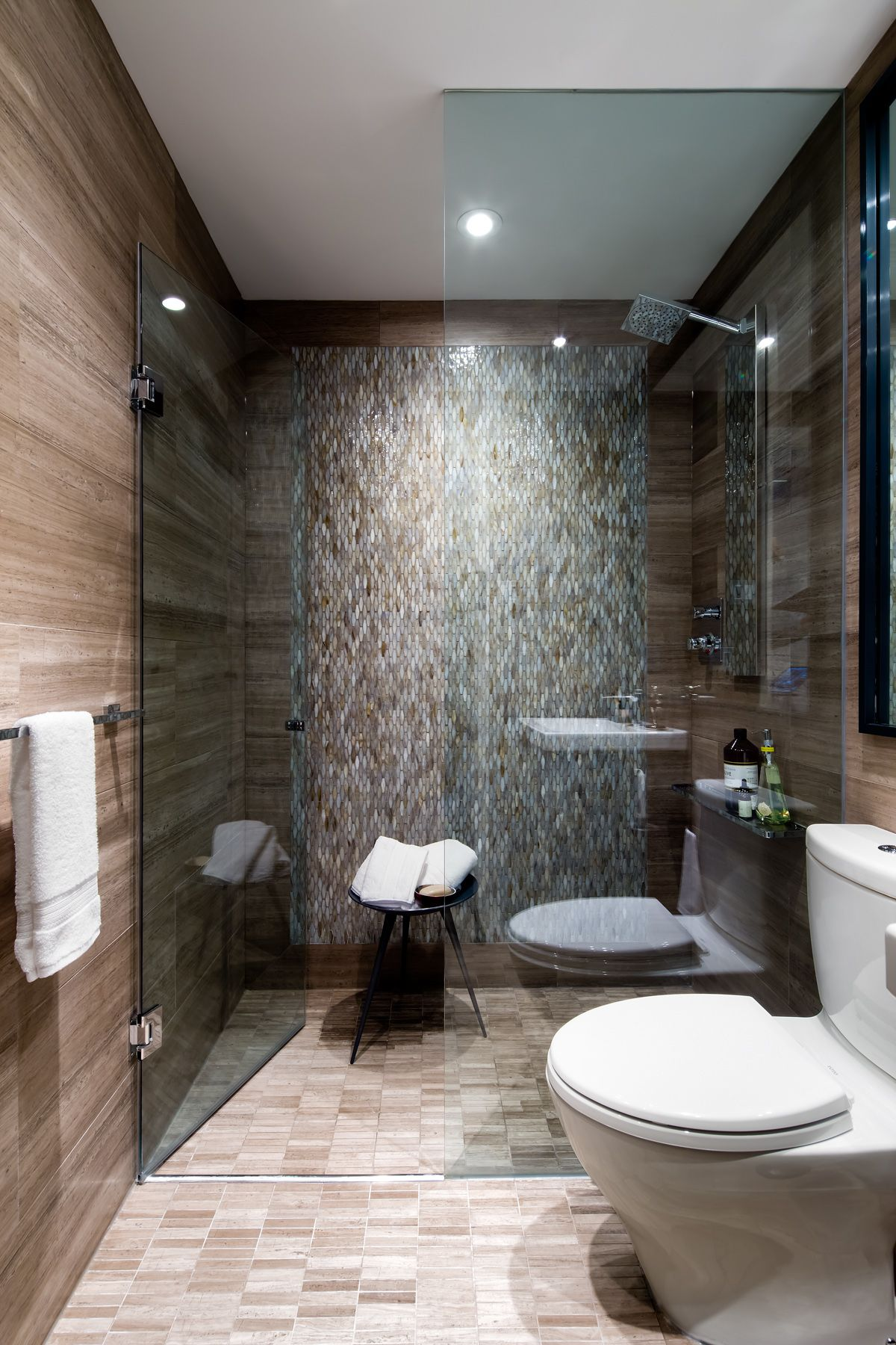 Condo Bathroom Designed By Toronto Interior Design Group