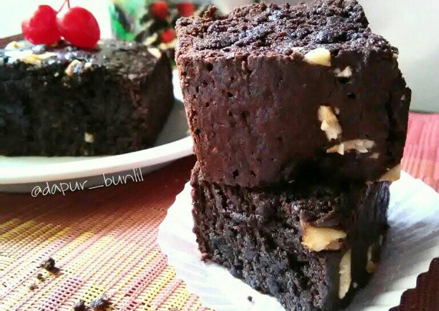 Resep Brownies Tepung Singkong Brownies Mocaf Oleh Lila W Lestari Resep Tepung Brownies Adonan
