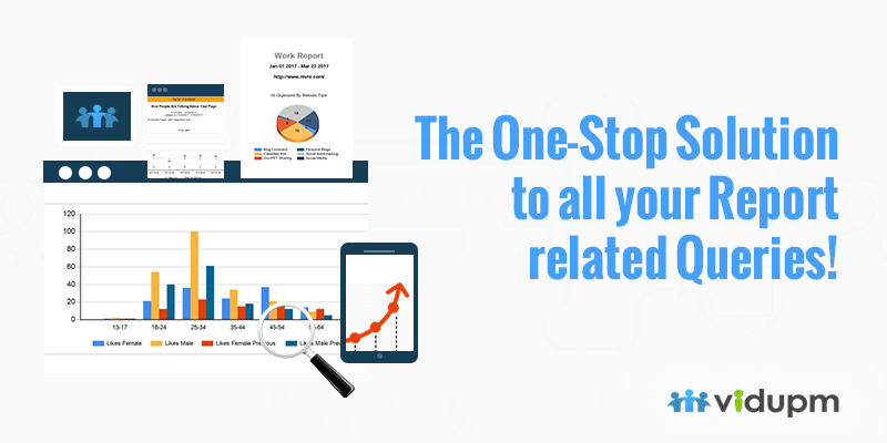 Creating Project Reports Can Turn Pretty Messy Given The Time And Effort Have Taken By A Professional Connect With Vidupm The One S Seo Report Seo Report