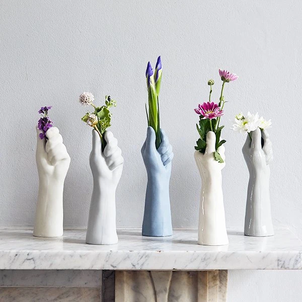 Photo of Fist Ceramic & Porcelain Flower Vase
