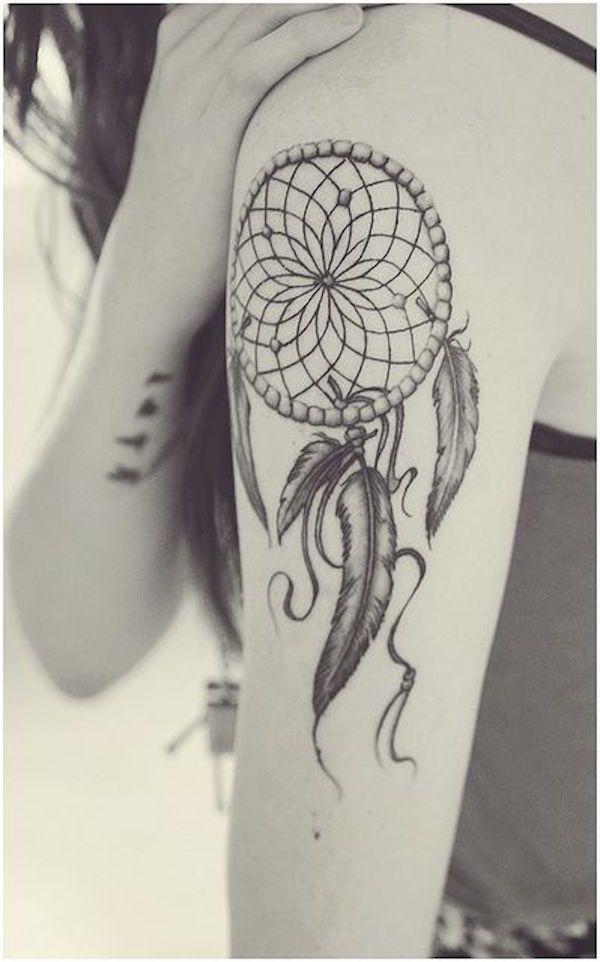 tatouage attrape reve pour femme : les 70 + beaux modèles | tattoo