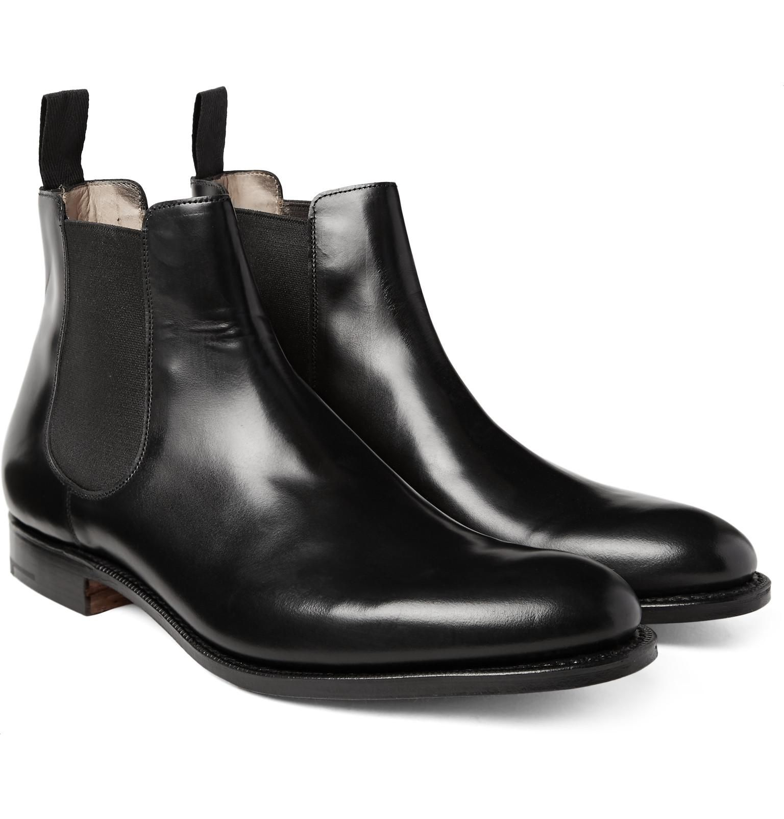 451efa6a64943 Men's Black Houston Leather Chelsea Boots in 2019 | formal boots ...