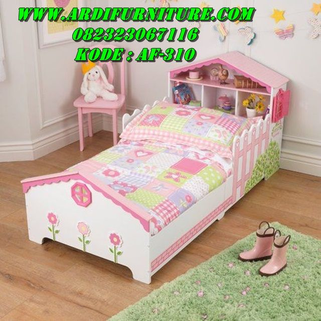 Tempat Tidur Anak Minimalis Perempuan | Tempat tidur anak ...