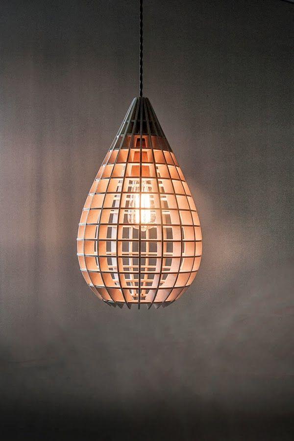 Lampenschirm aus Holz | Lampen | Pinterest | Lampenschirme, Holz und ...