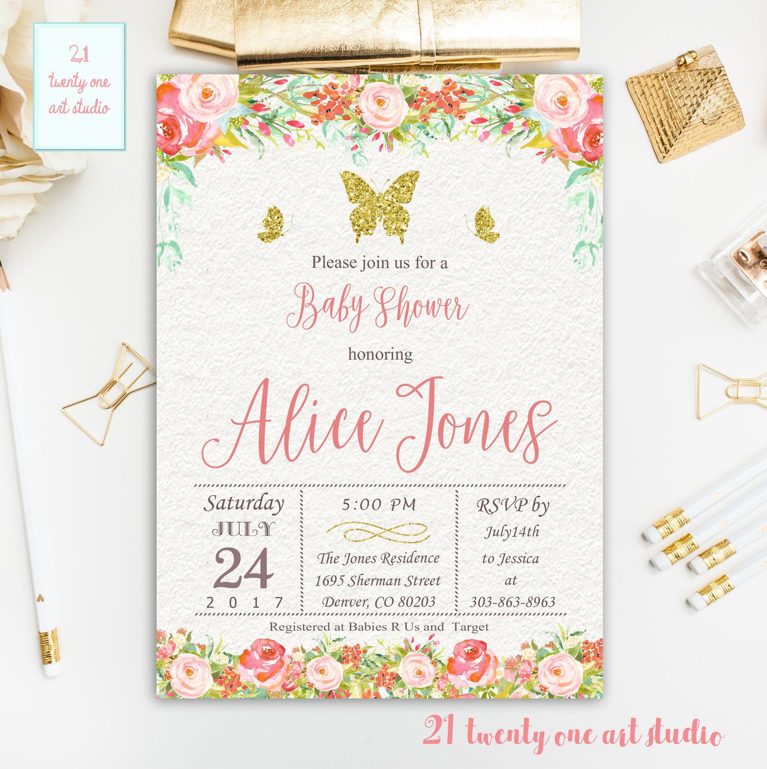 Einladung Baby Shower Text | Geburtstag Einladung | Pinterest