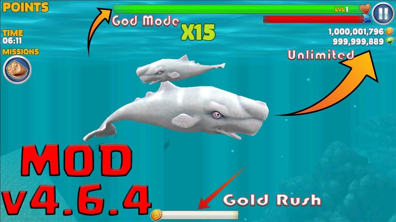 hungry shark evolution cheats coins