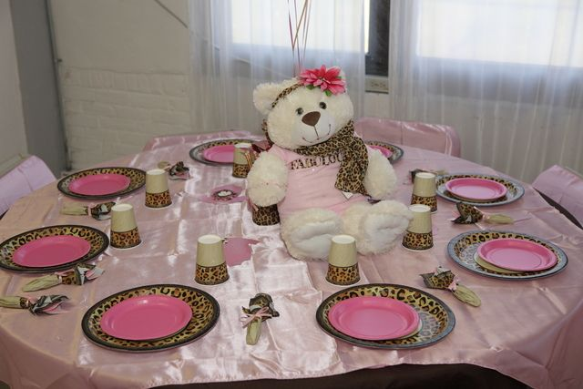 Pink And Leopard Baby Shower Party Ideas Leopard Baby Showers