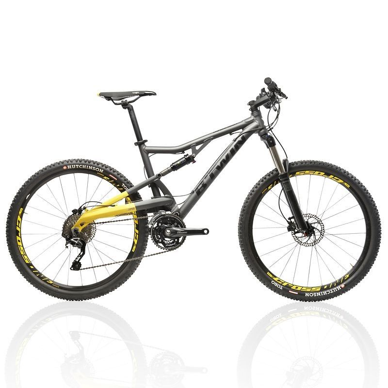 vtt rockrider 700 s tout suspendu b 39 twin vtt decathlon. Black Bedroom Furniture Sets. Home Design Ideas