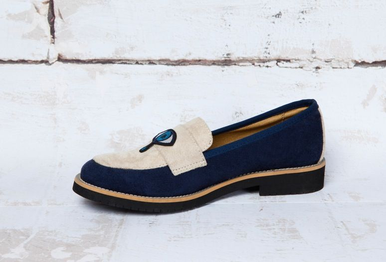 "Image of MACON & LESQUOY ➽ GOOD GUYS ""EYE"" loafer"