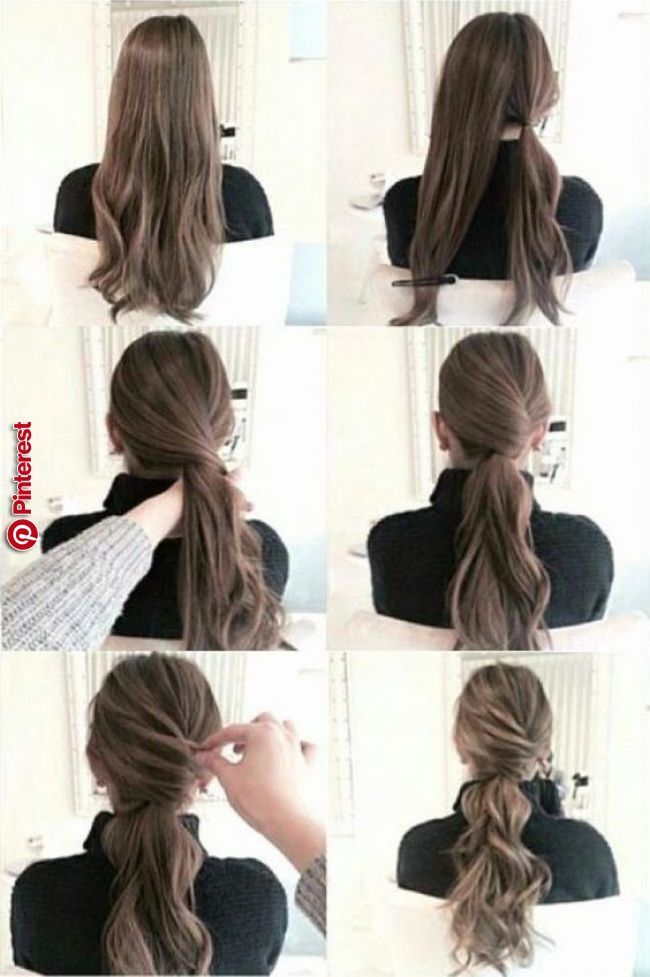 20 Simple Diy Tutorials On How To Style Your Hair In 3 Minutes Sometimes You Wake Up Late And You Need To Rush To Long Hair Styles Hair Styles Pinterest Hair