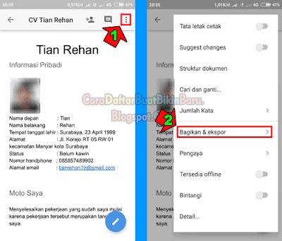 Contoh Membuat Cv Serta Bagaimana Cara Mengirim Lamaran Kerja Via Email Di Hp Android Yakni Lewat Gmail Dengan Baik Dan Benar Bis Android Aplikasi Web Aplikasi