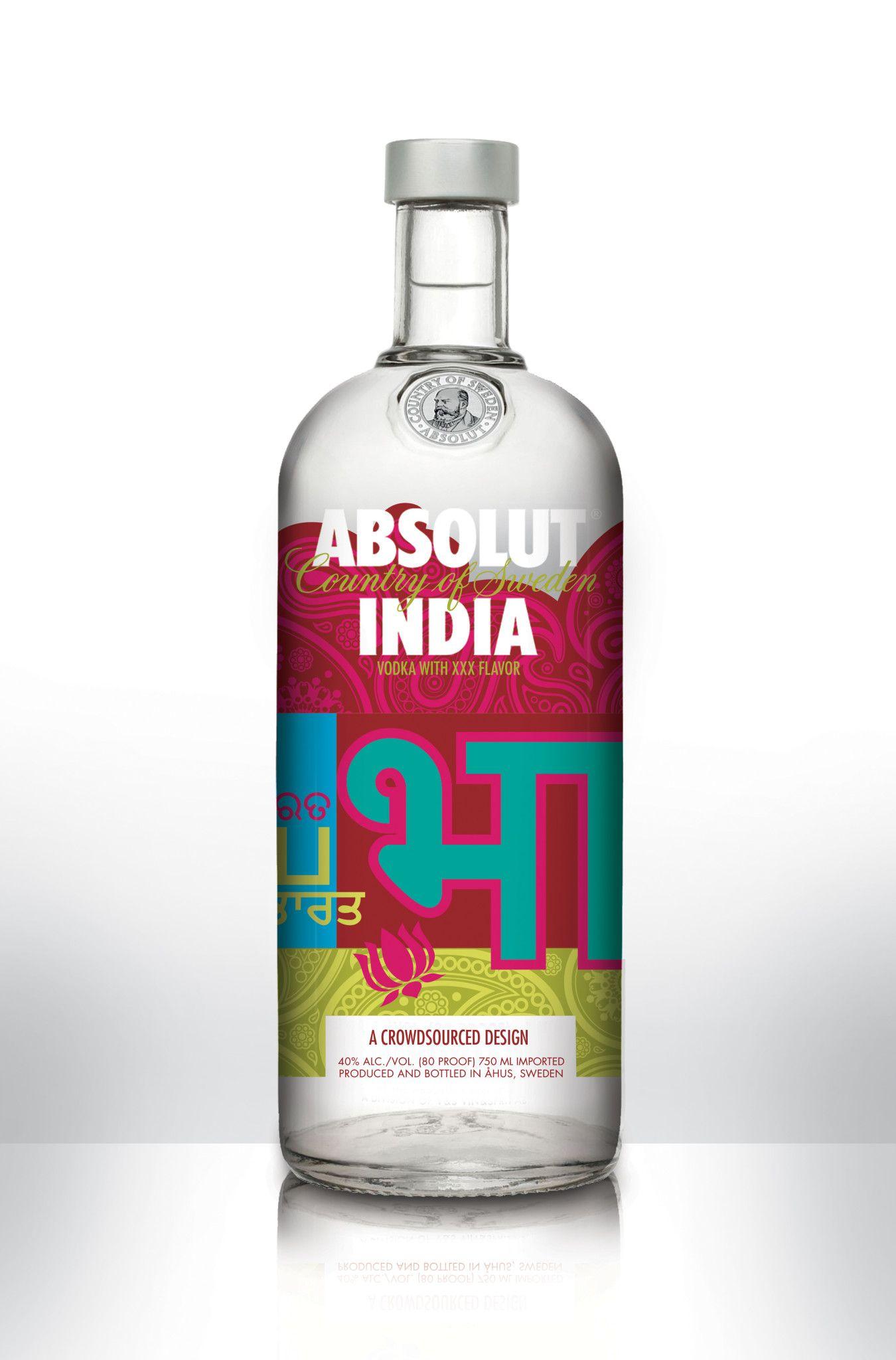 Hues Of India By Sanjaykumar Daramwar Drinks Design Bottles And Jars Absolut