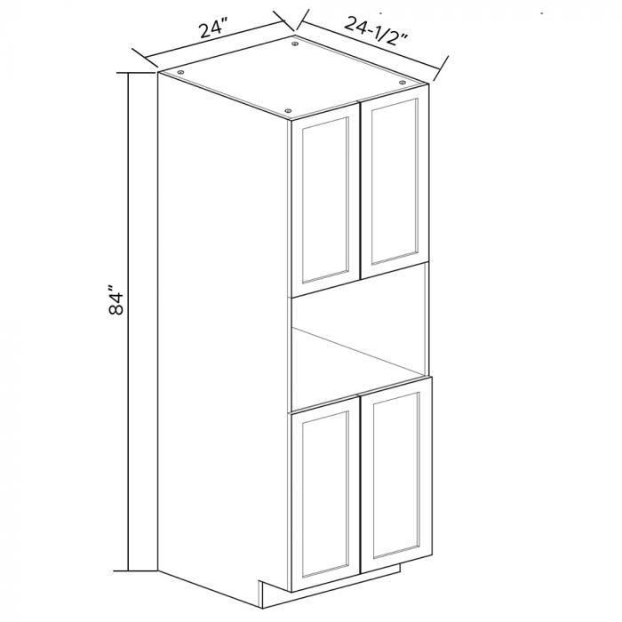 Garde Manger 4 Portes 24 X 84 Avec Espace Pour Micro Ondes Room Divider Home Decor Decor