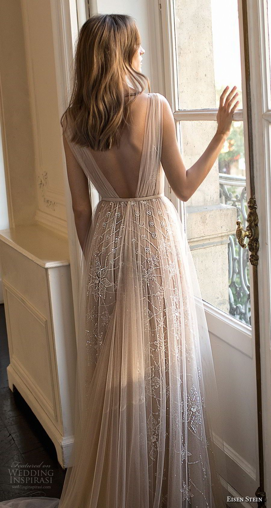 Eisen stein wedding dress u blush bridal collection in